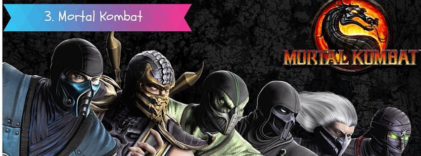 90s video game Mortal Kombat