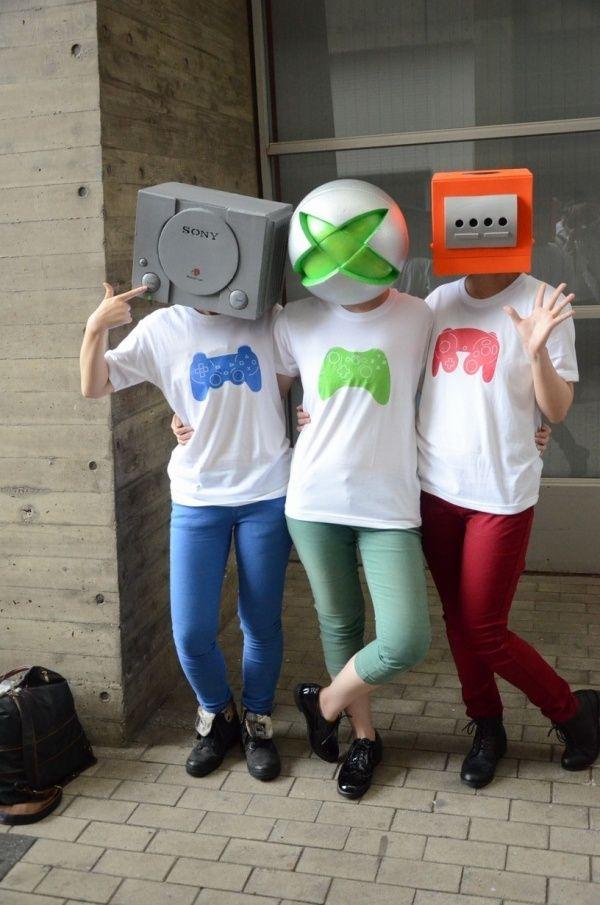Game console costume