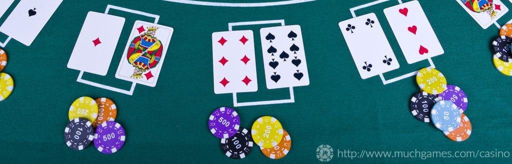 reglas de la mesa del blackjack estilo Las Vegas