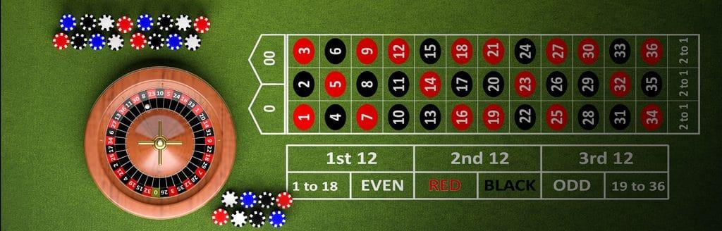 play roulette free bonus